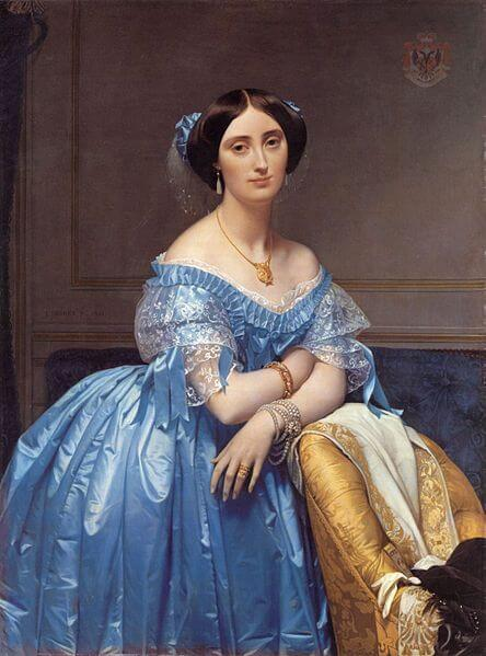 ingres, princess albert of broglie, 1853