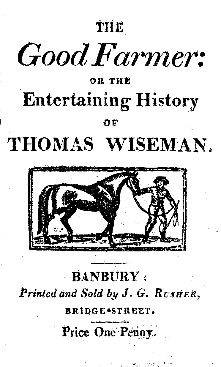 the front page of another chapbook