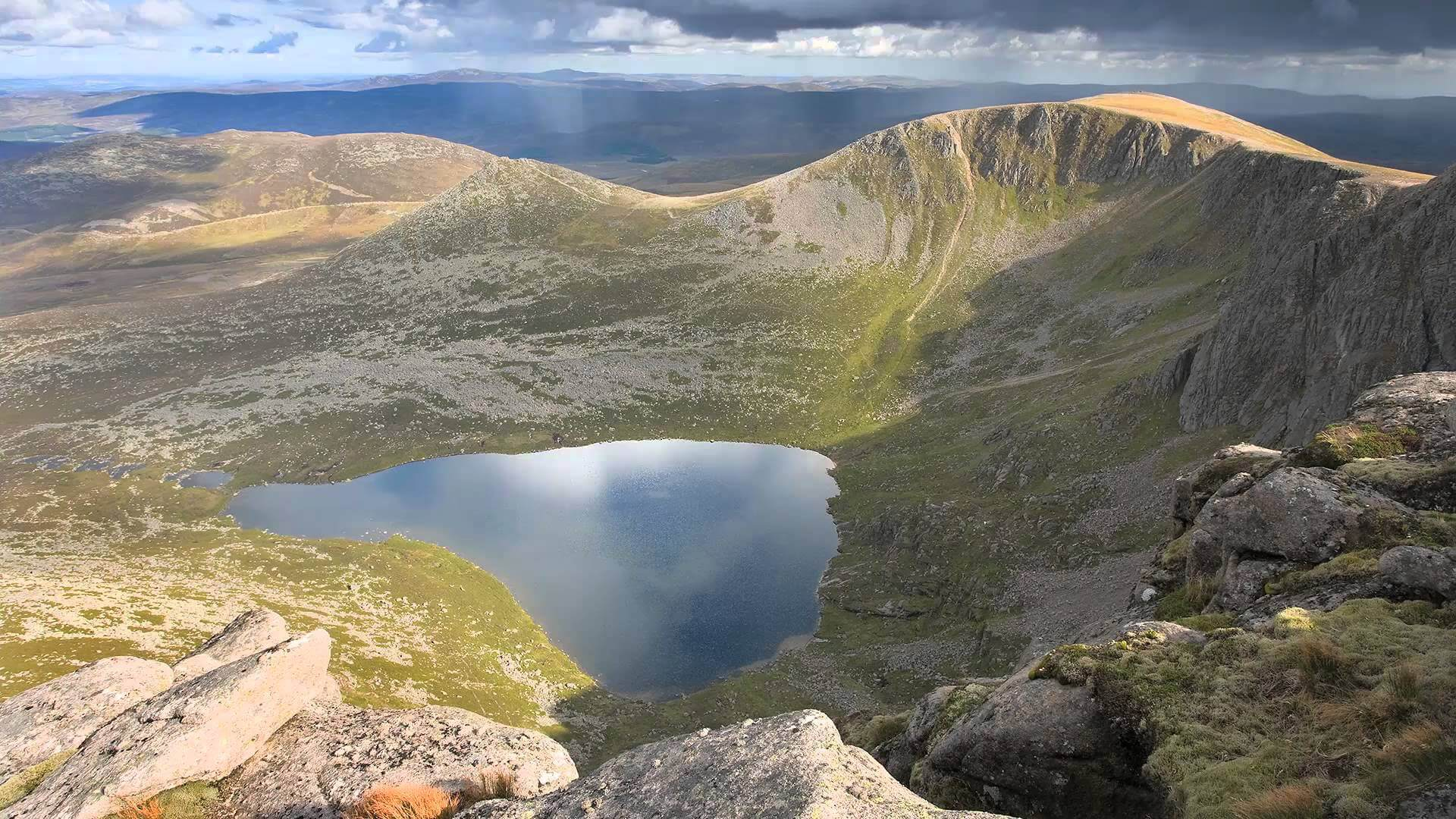 a picture of the Cairngorms